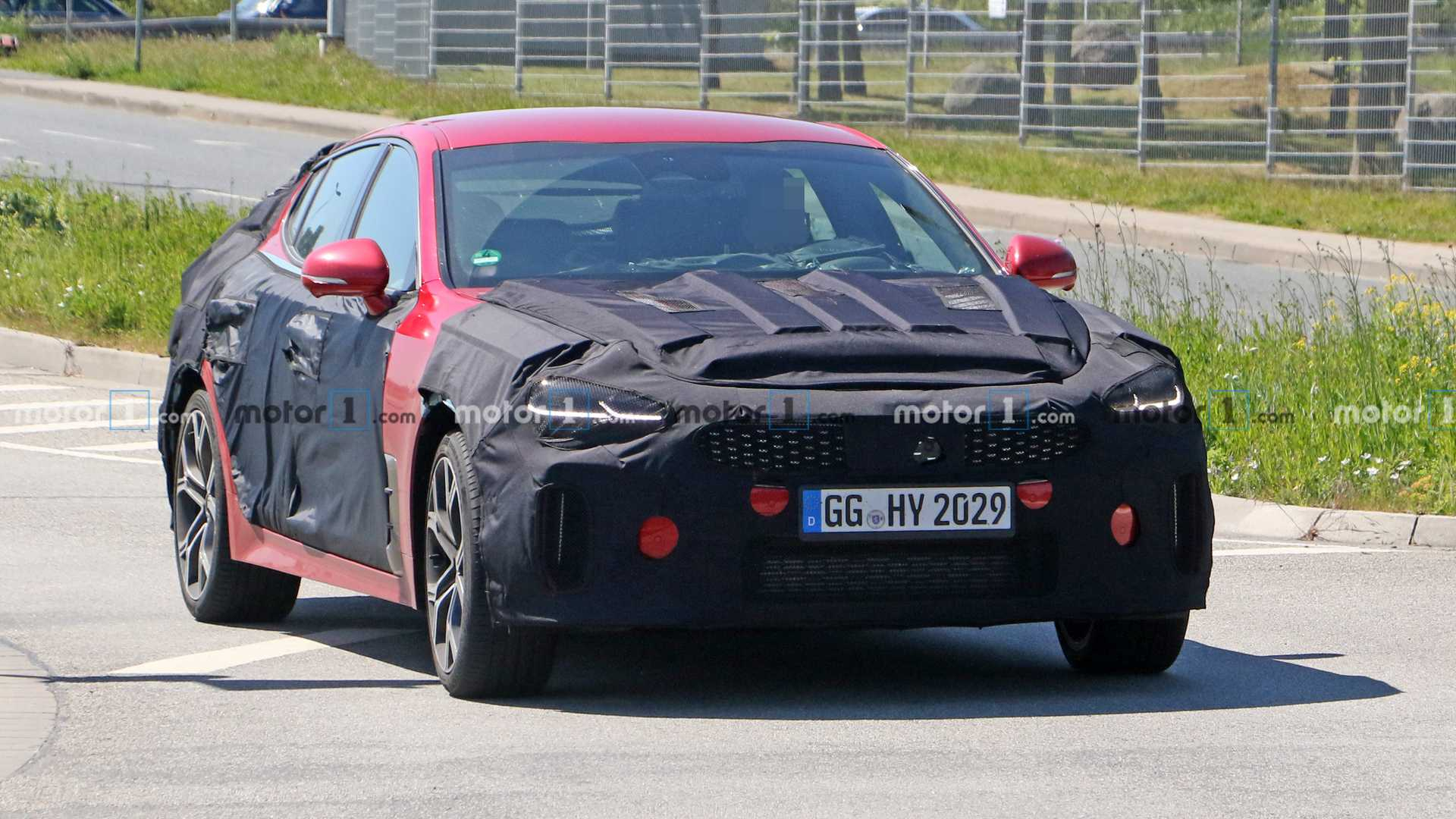 2021 Kia Stinger Facelift Concept, Manual Transmission ...